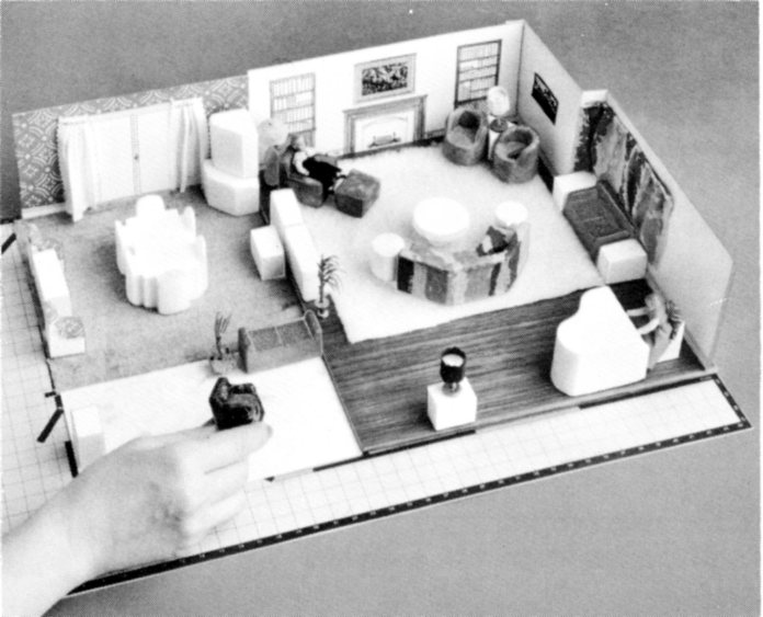 Exceptionnel The Hoyt Rust Scale Model Home Kit (1953) Was One Of Several Model House  Kits Designed To Enable New Homeowners To Decide On The Size And  Architectural ...