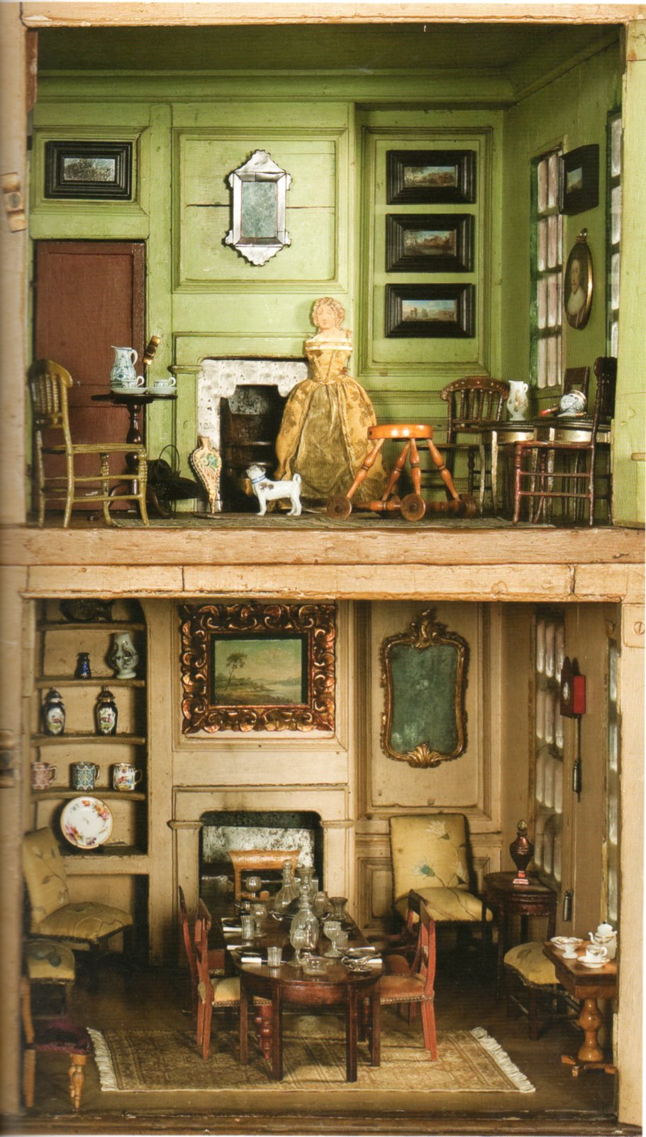 Issue  Nov  P Dolls Houses Past  Present - Dolls house interior
