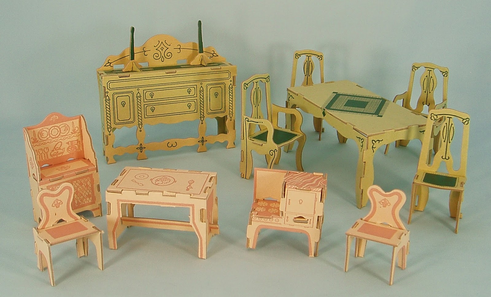 Fairy Princess Doll Furniture By Florine Bettge Dolls 39 Houses Past Present