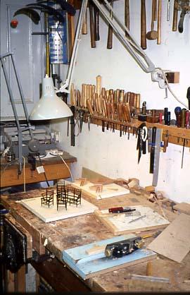 Kim Selwood Miniature Furniture Maker Dolls Houses Past