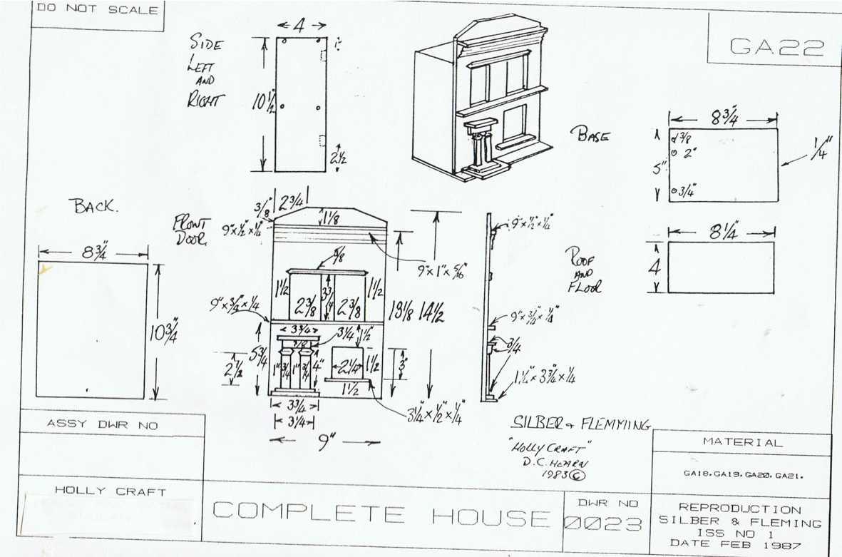 100 Complete House Plans Studio Garage Log Homes