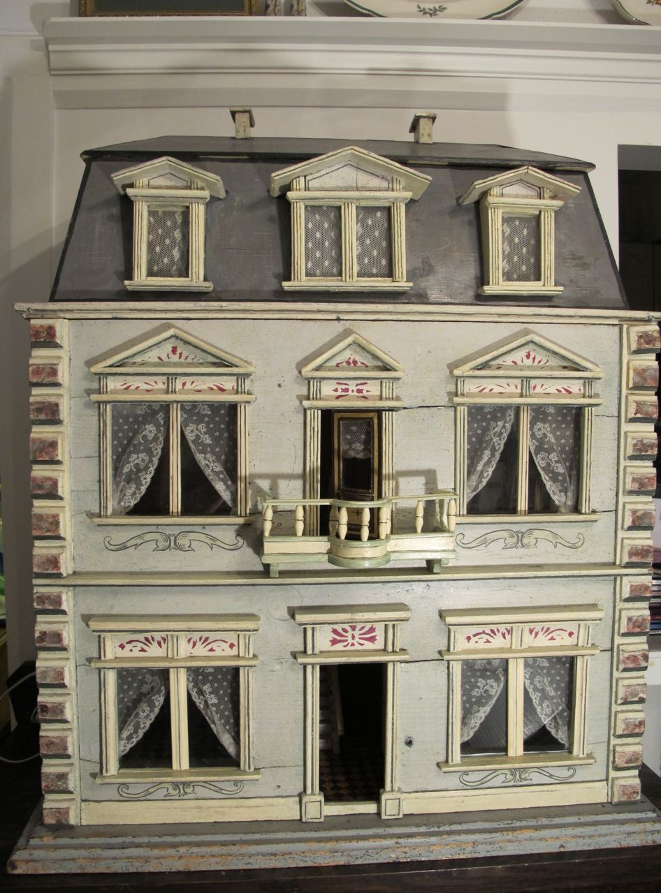 Images of doll houses - A Christian Hacker House Ca 1880 By Susan Hale
