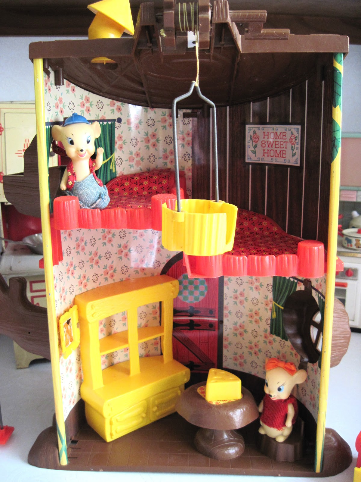 Remco S Elly And Andy Baby Mouse Tree House By Tracy