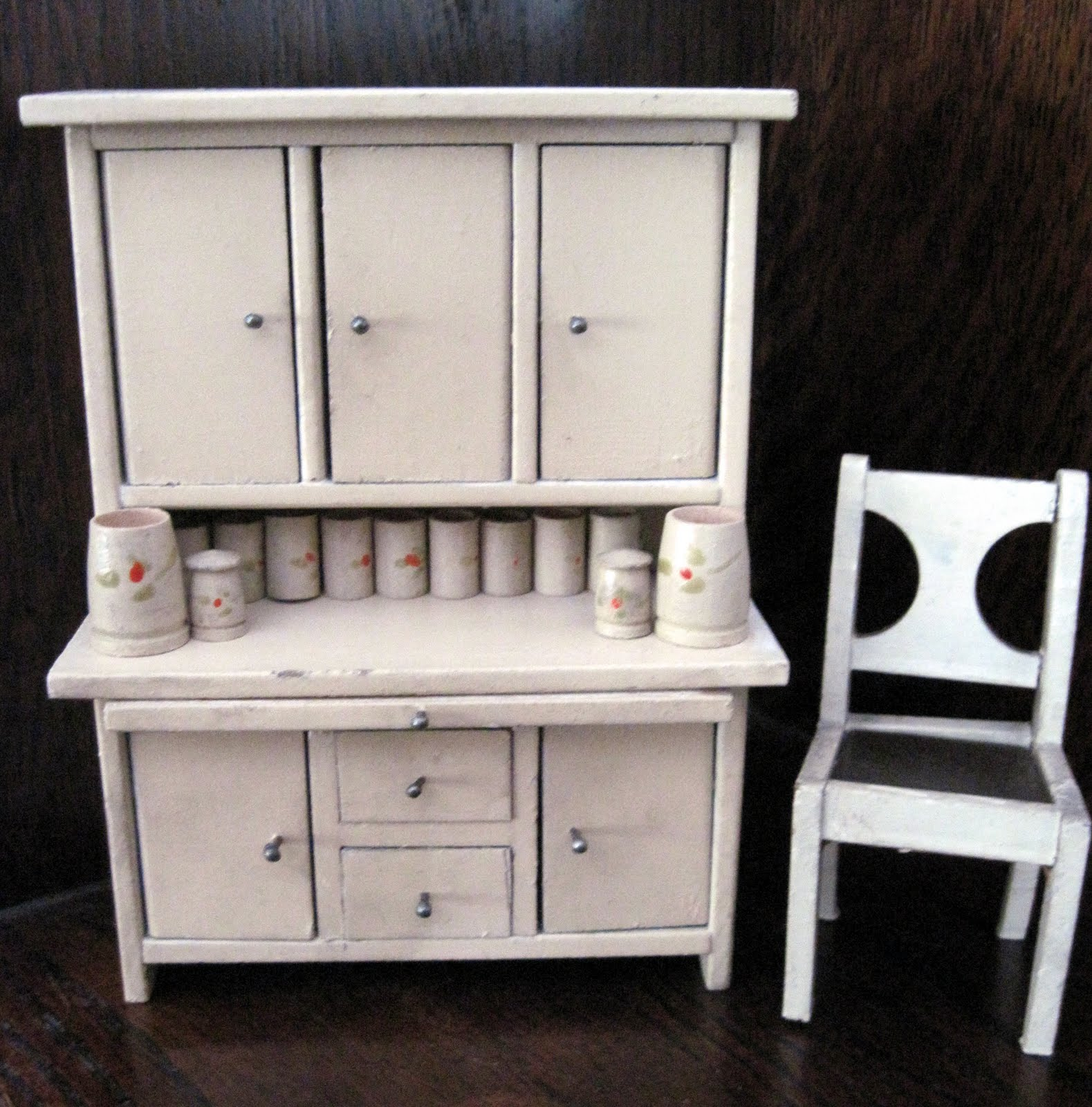 Kitchen Dollhouse Furniture Antique American Toy Kitchens By Tracy Harnish Dolls Houses
