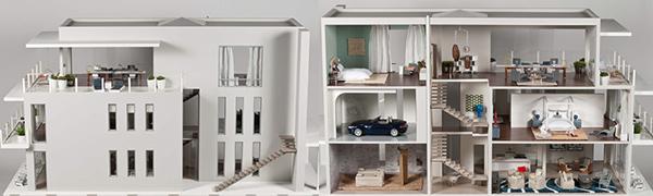 Designer Dollhouse Showcase By Megan Hornbecker Dolls