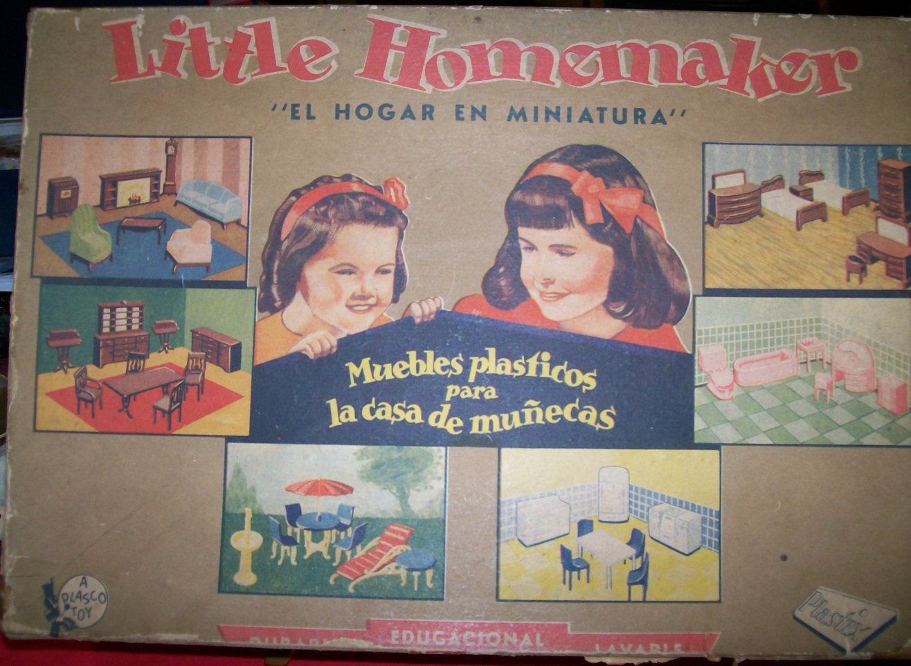Small Finds In Argentina By Elsa Berta Keller Dolls Houses Past  # Muebles Fiction