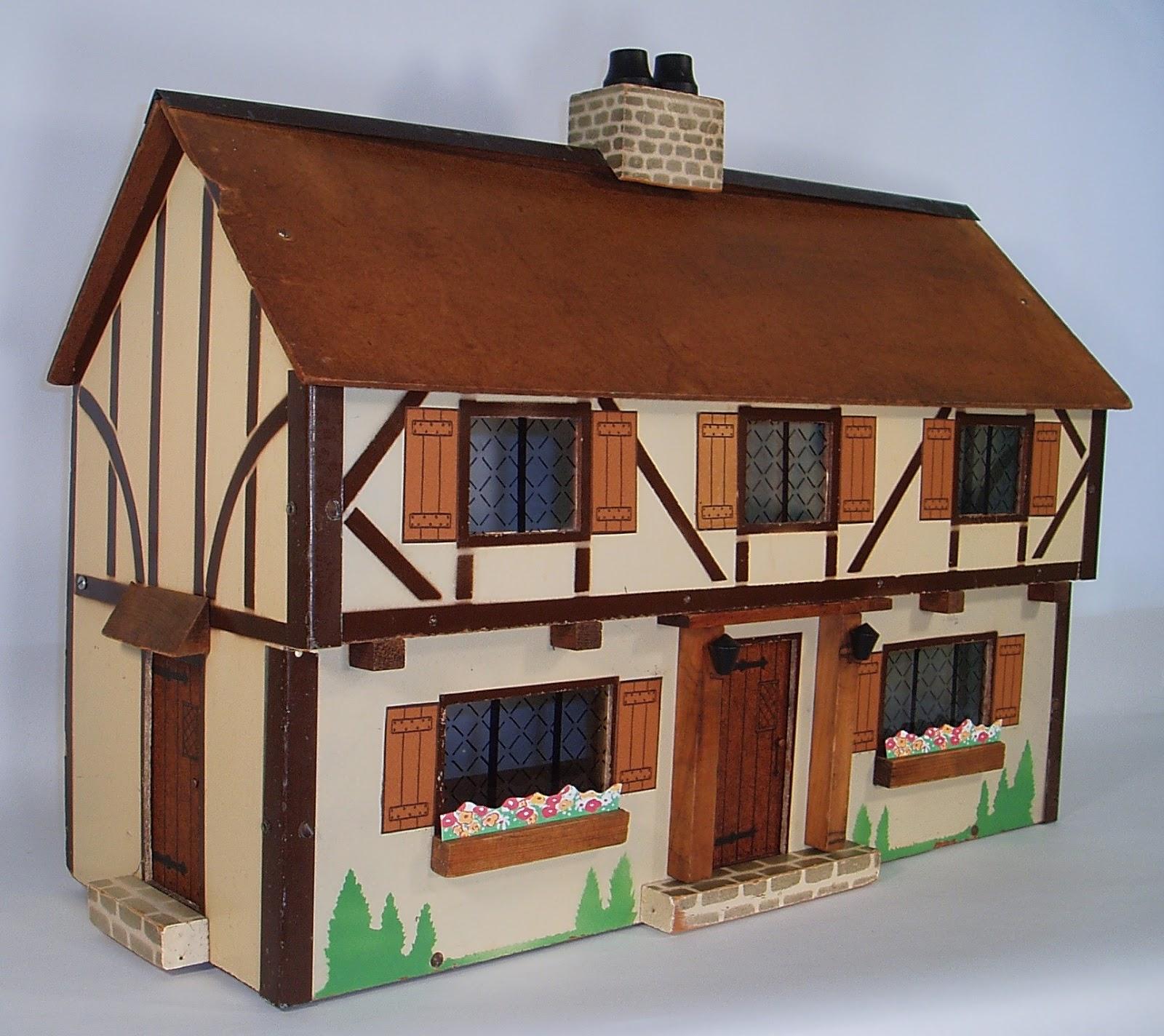 What Makes A House A Tudor rich manufacturing company dollhousesrita goranson - dolls