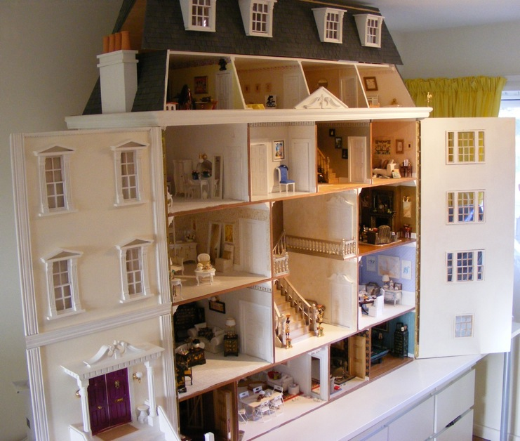 My Grand Georgian Dolls House by Jazz - Dolls\' Houses Past & Present