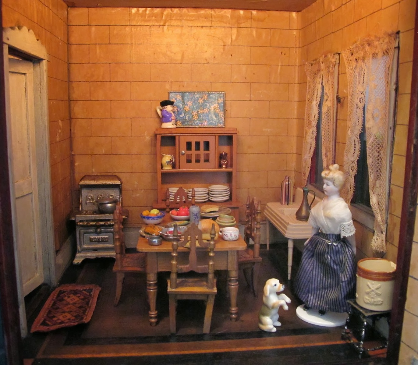 a rare 19th century doll house with a mysterious past by susan