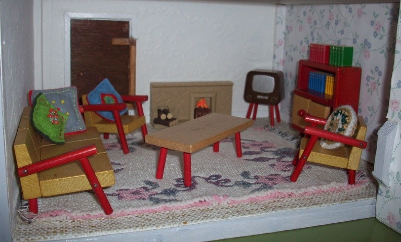 czech miniature wooden furniture schowanek tofa detoa by rebecca green