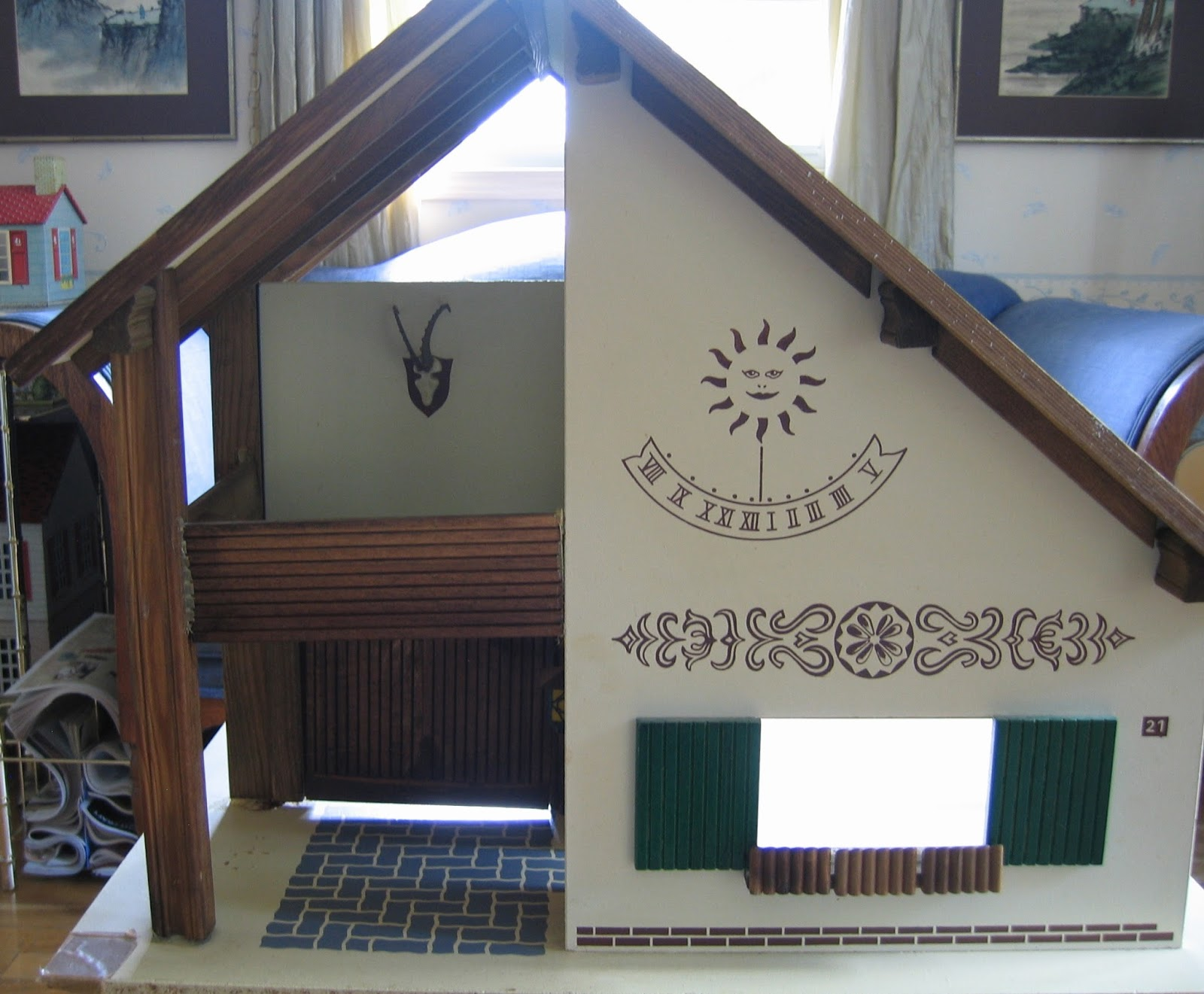 Chalet Dolls Houses by Rebecca Green Dolls Houses Past & Present