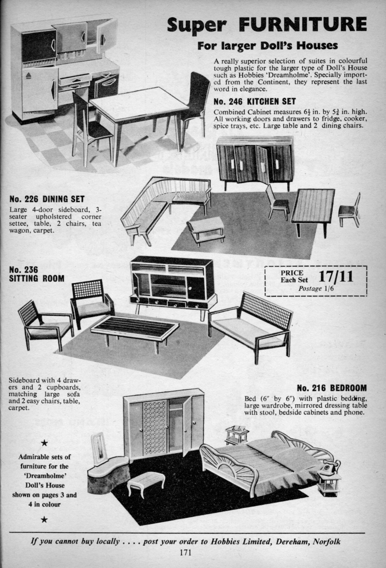 Furniture Sold By Hobbies