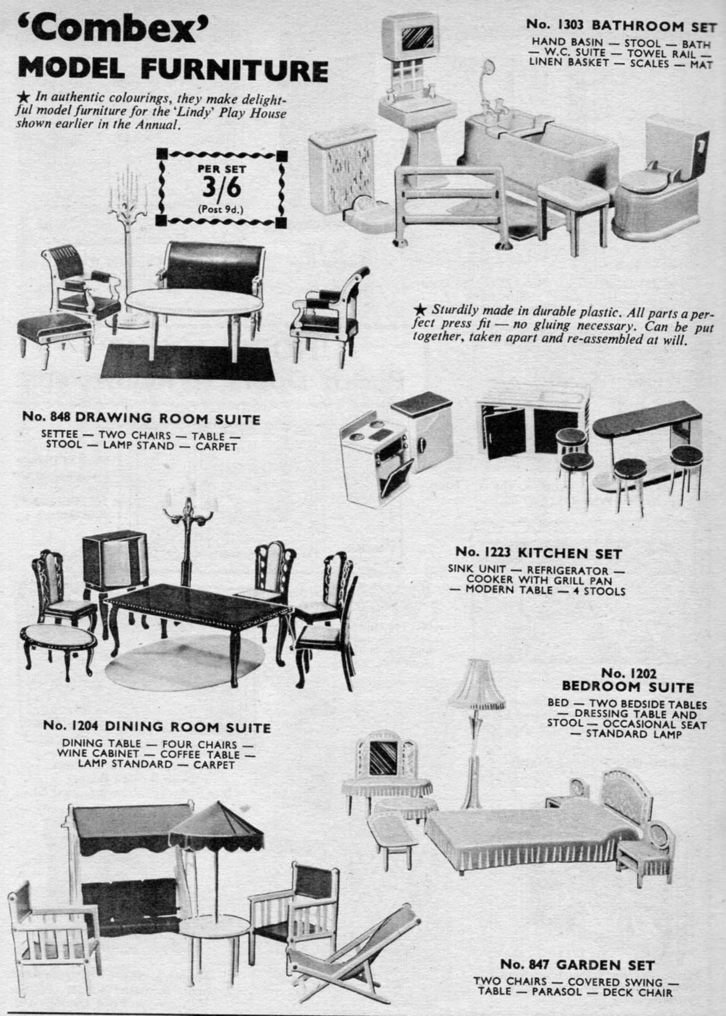 Hobbies Of Dereham Dolls House Furniture And Fittings 1946 1968 By Rebecca  Green   Dollsu0027 Houses Past U0026 Present