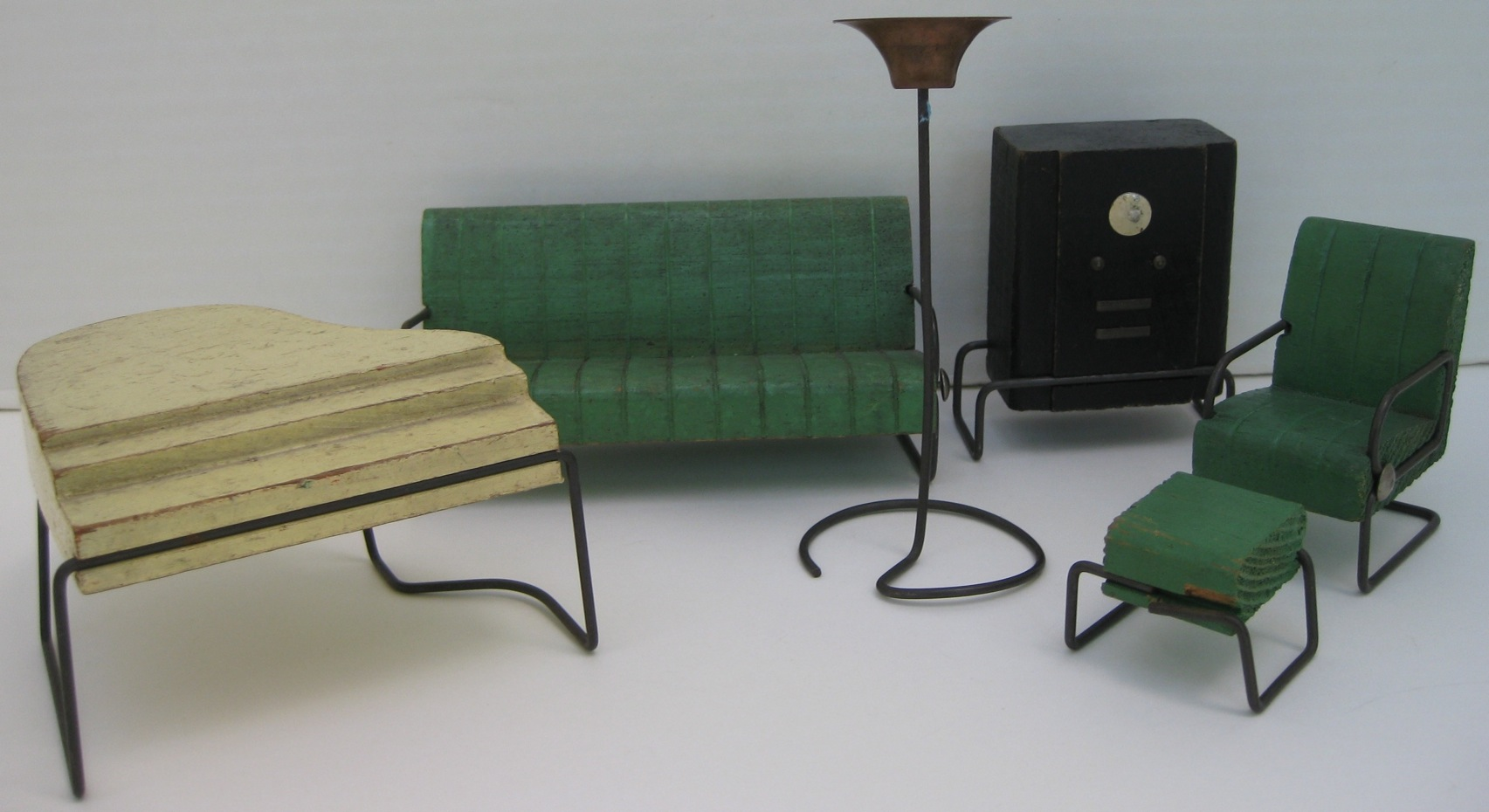 Good Lincoln Furniture   For The 20th Century Art Deco Doll House By George  Mundorf And Patty Cooper   Dollsu0027 Houses Past U0026 Present