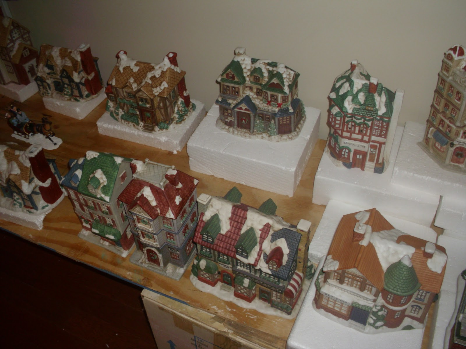 our christmas village by troy bettridge dolls houses past present