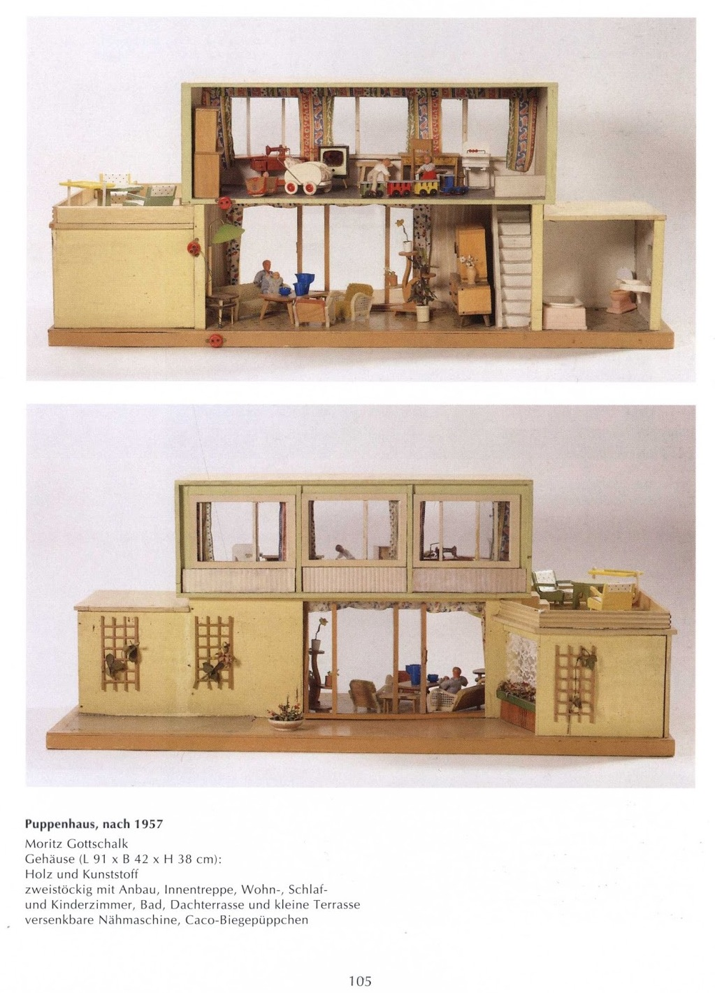 1960S Houses Moritz Gottschalk Dolls Houses 19471971.
