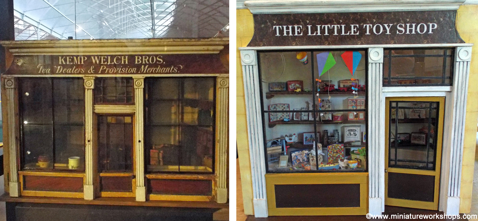 Our Current Workshop Project The Little Vintage Toy Shop Was Inspired By An Antique Miniature Which We Found Whilst Visiting Bethnal Green Museum
