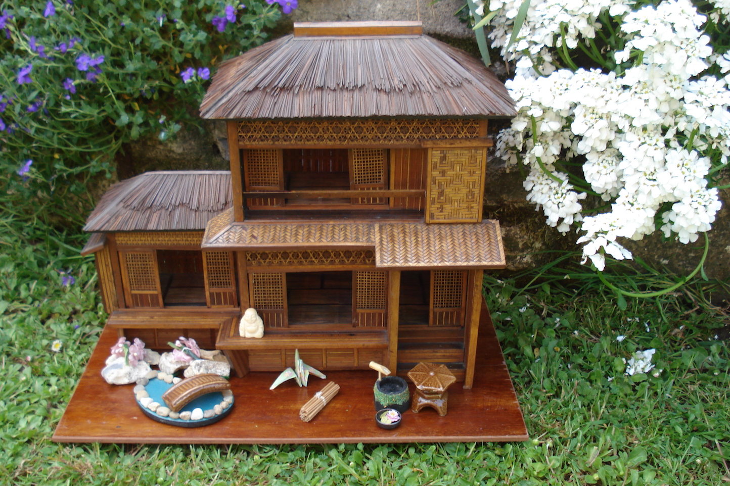 A small japanese house by jill friendship dolls houses past present